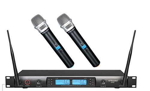 GTD Audio G-622H 200 Channel UHF Professional Wireless microphone Mic System by GTD Audio