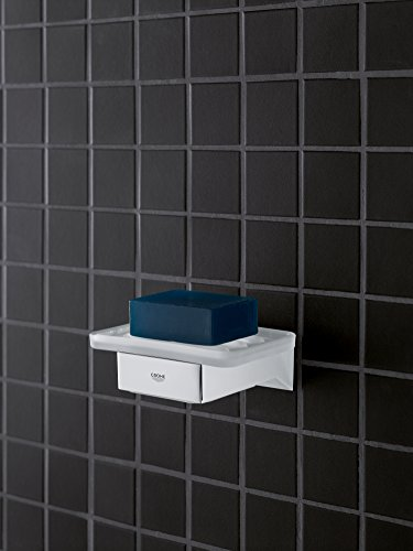 GROHE 40865000 Selection Cube Holder f.Glass/Dish/disp, Starlight Chrome by GROHE (Image #5)
