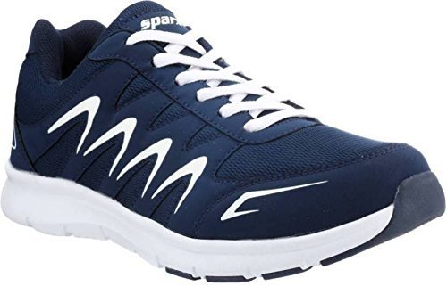 Sparx Men's Navy Blue and White Running Shoes - 9 UK/India (43...