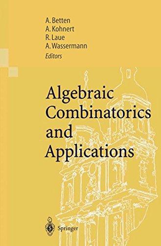 Algebraic Combinatorics and Applications: Proceedings of the Euroconference, Algebraic Combinatorics and Applications (ALCOMA), held in Gößweinstein, ... 12–19, 1999 (English and German Edition)