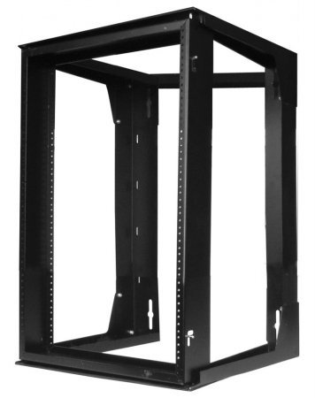 Hubbell HPWWMR24 24 in. Wall Mount Swing Frame44; Black