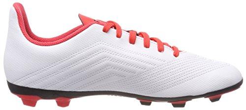 4 Predator Correa Unisex Blanco Negbas 18 FxG adidas de Botas 000 J Ftwbla fútbol Adulto ZwRExpq