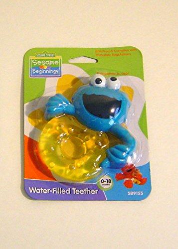 Sesame Street Water Filled Monster Teething