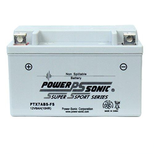 Powersonic PTX7ABS-FS 12V 6AH Battery Replaces Suzuki AN250 Burgman 95-00