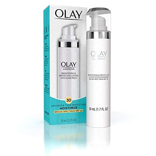 Olay Luminous Brightening and Protecting Lotion SPF 30, 1.7