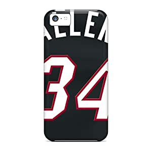 New Style Cases Covers HgN1276OMLb Miami Heat Compatible With Iphone 5c Protection Cases