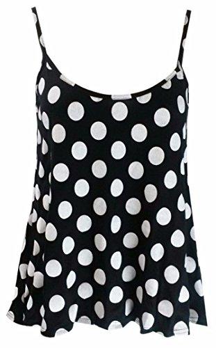Elum® - Camiseta sin mangas - para mujer Polka Dot
