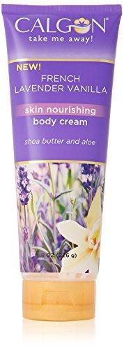 Calgon Shea-Enriched Body Cream (French Lavender Vanilla, 8-Ounce) French Vanilla Cream