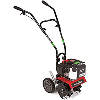 Earthquake MC43 Mini Cultivator Tiller with 43cc 2-Cycle Viper Engine, 5 Year Warranty