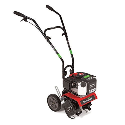 Earthquake MC43 Mini Cultivator Tiller - 43cc 2-Cycle Engine, 5 Year Warranty by Earthquake