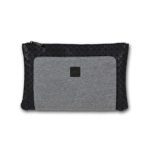 tessuto pelle Bloom Miya in sera di libera a tracolla borsa grigio sudore LxAxP 33x21x2 in pochette cm ZUxS8U