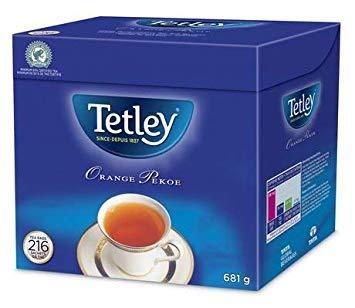Tetley Orange Pekoe Tea - 216 Tea Bags