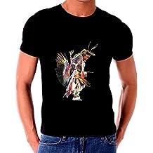 Native American Indain Warrior Spirit Dancer Paintng T shirt