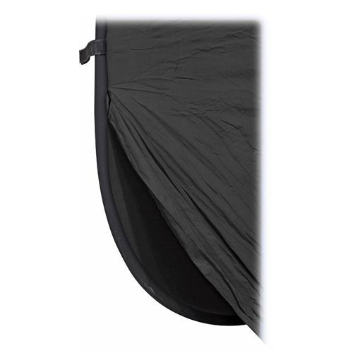 Impact Super Collapsible Background - 8 x 16' (Black) by Impact
