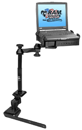 RAM Mounts (RAM-VB-178A-SW1) No-Drill Laptop Mount with Adjust-A-Pole for the Dodge 1500-5500