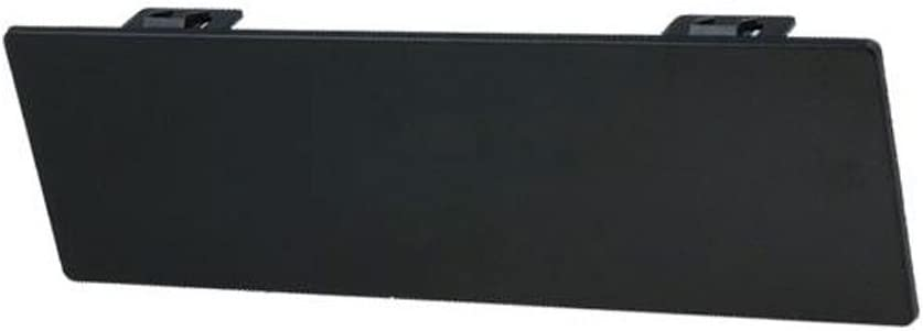 Panel de relleno para 1DIN Radio// Navi-Bandeja con Cierre r/ápido Color negro