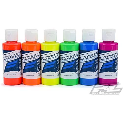 (Pro-Line RC Body Airbrush Paint Fluorescent Color Set (6))