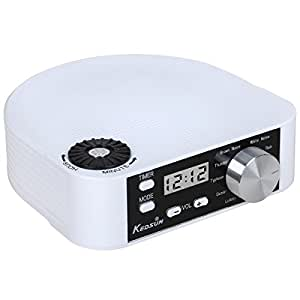 kedsum white noise machine sleep sound therapy system with 10 natural sounds sleep. Black Bedroom Furniture Sets. Home Design Ideas