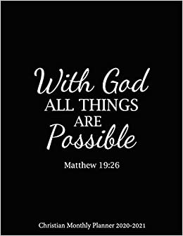 com god all things are possible christian monthly