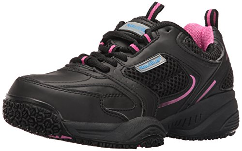 Nautilus Safety Footwear Women's Nautilus 2151 Women's Sr Safety Toe Athletic Industrial & Construction Shoe, Black, 6.5 2E US