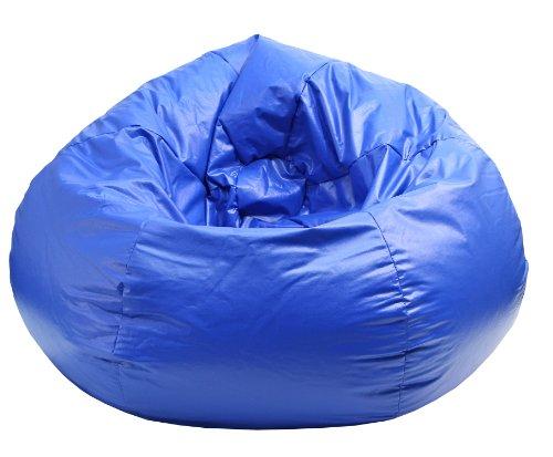 Gold Medal Bean Bags Wet Look Vinyl Bean Bag, XX-Large, Blue by Gold Medal Bean Bags
