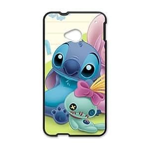 SANLSI Lilo & Stitch Case Cover For HTC M7