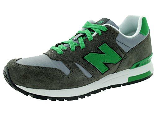 New Balance Men's Ml565 Lifestyle Running Shoe,Grey/Green, 10 D US
