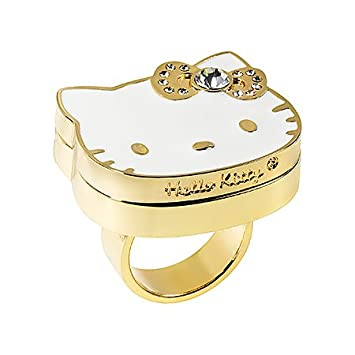 Hello Kitty Big Pink Bow Perfume To Go Ring Fragrance For Women