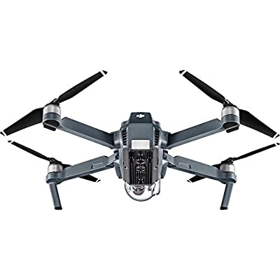 DJI Mavic Pro Drone Quadcopter 4K Professional Camera Gimbal Bundle Kit with 2 Batteries, 64GB SD Card + 3.0 Card Reader, Landing Gear, Prop Guards and Must Have Accessories by dji mavic pro platinum