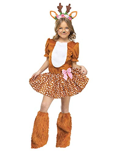 Fun World Oh Deer! Child Costume, Small, Multicolor