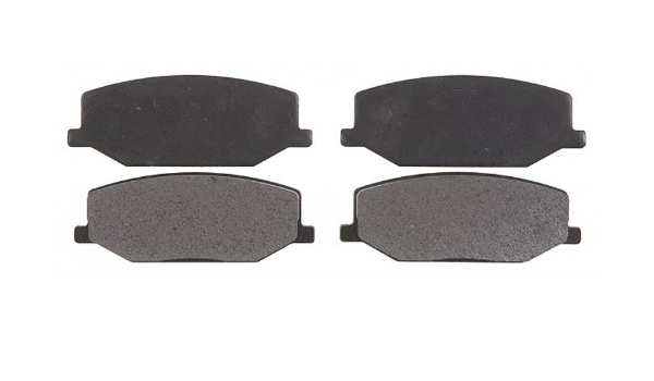 Disc Brake Pad Set-Semi-Metallic Front ACDelco Pro Brakes 17D660M