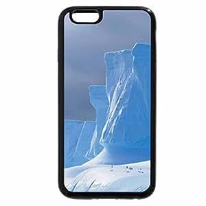 iPhone 6S / iPhone 6 Case (Black) Shock landscape - Antarctic glaciers