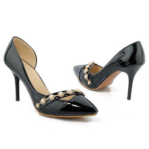 Black Shoes 16 Taoffen Women D'orsay Fashion Court xzIqXqYgn