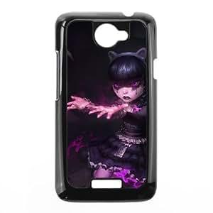 HTC One X Cell Phone Case Black League of Legends Goth Annie Dpzqg