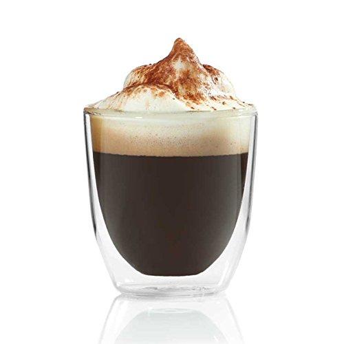 Doppelwandiges Espressoglas 80ml Espresso-Tasse aus Glas Espresso Tassen von Dimono