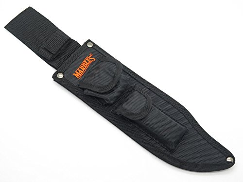 """Marbles Nylon Jungle Bowie Knife Sheath For Large 10"""" Fixed Blade Hunting Fishing Camping"""