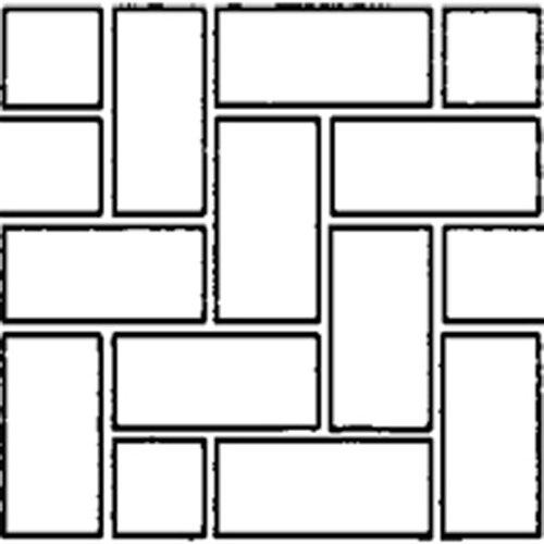 Bon Tool Decorative Concrete (BonWay 32-242 33-Inch by 365-Feet Paper Stencils for Decorative Concrete, Herringbone)