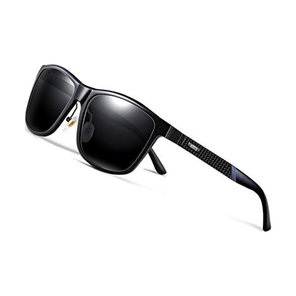 e6446e8da6 ATTCL Men s Driving Polarized Sunglasses Al-Mg Metal Frame Ultra Light