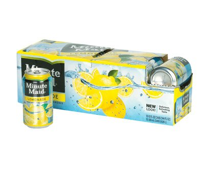 Minute Maid Lemonade 12 oz Cans - Pack of 24 by Charmin