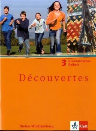 Découvertes, Bd. 3: Grammatisches Beiheft