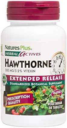 NaturesPlus Herbal Actives Hawthorne