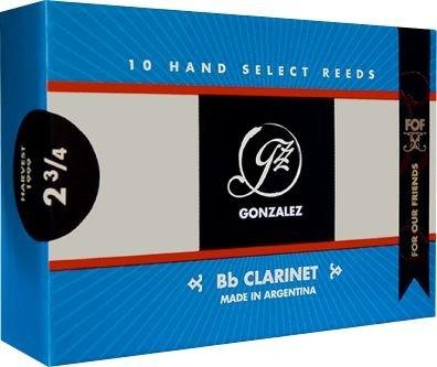 Gonzalez F.O.F Bb Clarinet Reeds Strength 2.75