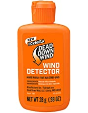 Dead Down Wind Hunting Wind Detector | Odorless Wind Direction Indicator, Longer Range Visibility, Detects Subtle Breezes, No Clumping, Mess Free Formula | Secure Squeeze Bottle | .98 Oz