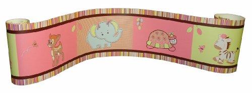 Wall Border for Jungle Animal Baby Bedding Set By Sisi