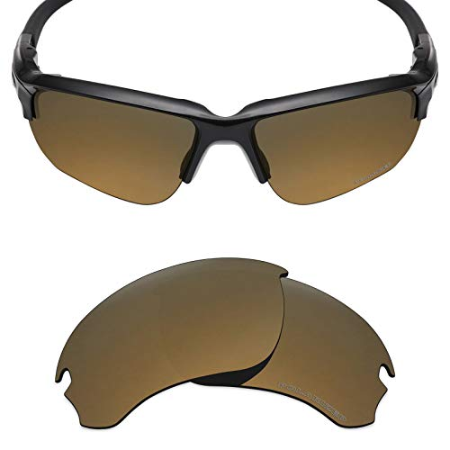c5d0502370 Mryok+ Polarized Replacement Lenses for Oakley Flak Draft - Bronze Gold