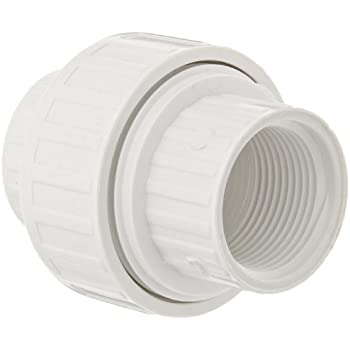 spears 498 series pvc pipe fitting union with epdm oring schedule 40