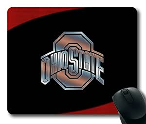 OSU Ohio State Buckeyes Logo Rectangle Mouse Pad by eeMuse