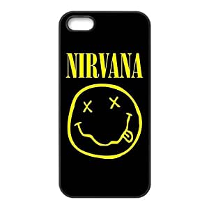 Custom Rock Band Nirvana Logo Phone Case Protective Case For iPhone 5and iphone 5s