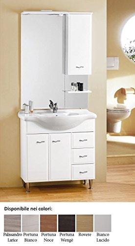 Europrimo mobile da bagno moderno con lavabo e specchio Fox 85 Per ...