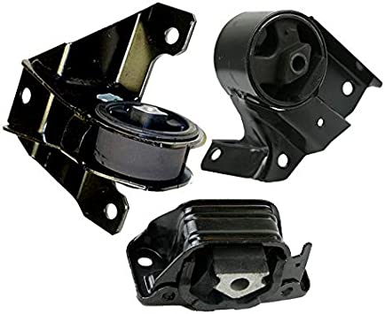 Front Motor Mounts /& 2wd Trans Mount 3PCS Set for 99-04 Jeep Grand Cherokee 4.7L